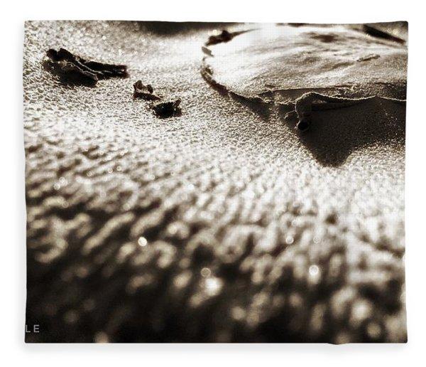 Morning Mushroom Top Fleece Blanket