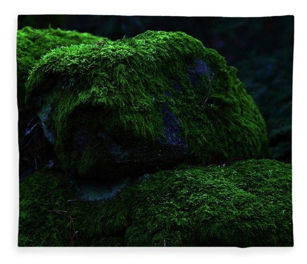 Moss Fleece Blanket