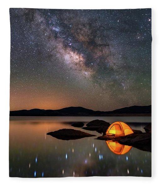 My Million Star Hotel Fleece Blanket