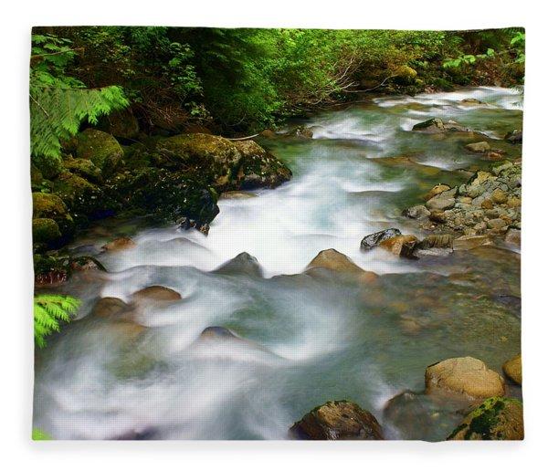 Mystic Creek Fleece Blanket