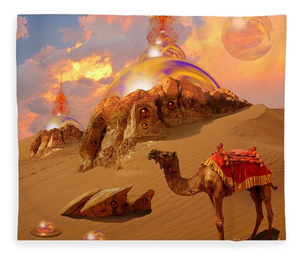 Mystic Desert Fleece Blanket