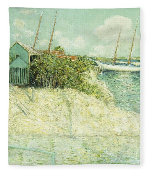 Nassau, Bahamas Fleece Blanket