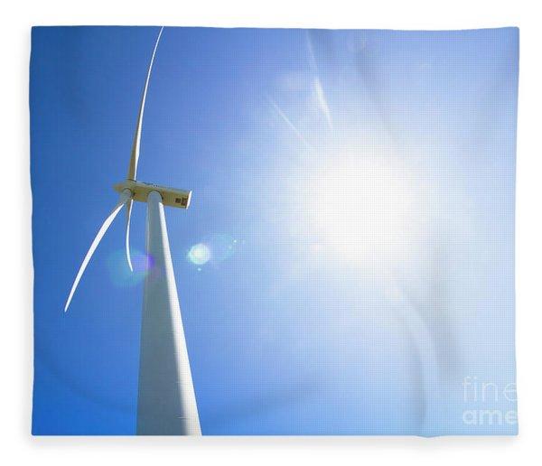 Natural Electricity Fleece Blanket