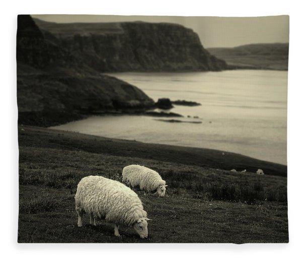 Neist Point Fleece Blanket