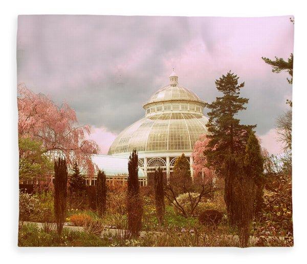 New York Botanical Garden Fleece Blanket
