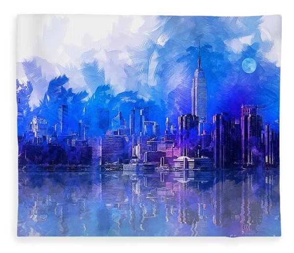 New York Fleece Blanket