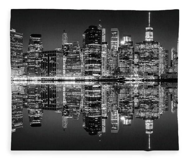 Night Grooves Fleece Blanket