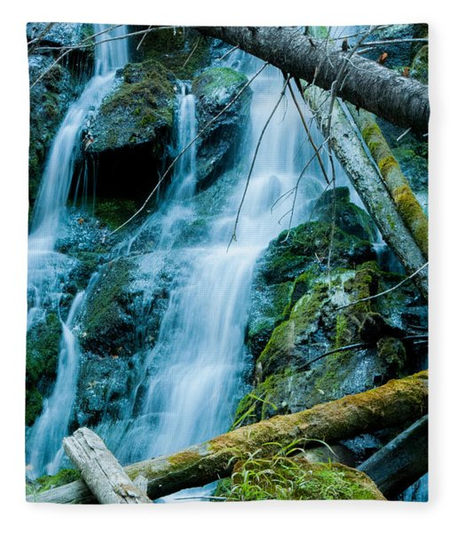Nine Mile Falls Fleece Blanket