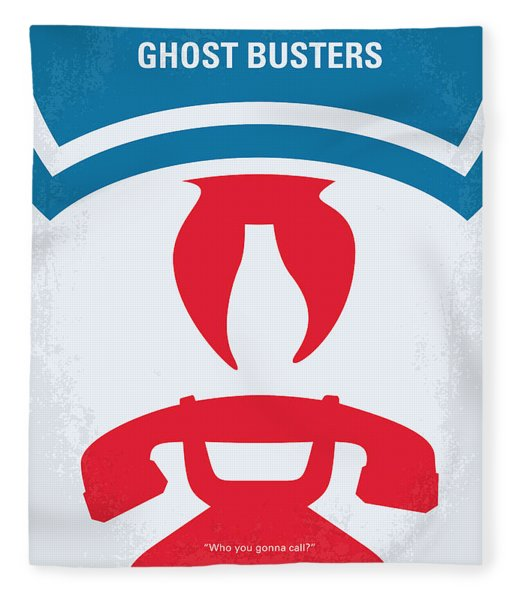 No104 My Ghostbusters Minimal Movie Poster Fleece Blanket