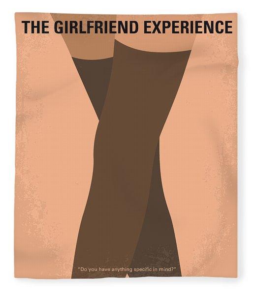 No438 My The Girlfriend Experience Minimal Movie Poster Fleece Blanket