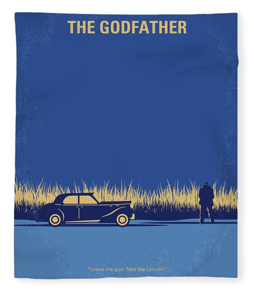 No686-1 My Godfather I Minimal Movie Poster Fleece Blanket