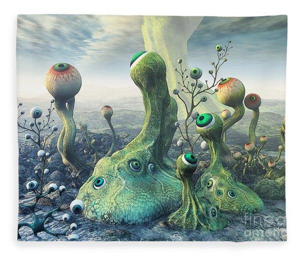 Observation Fleece Blanket