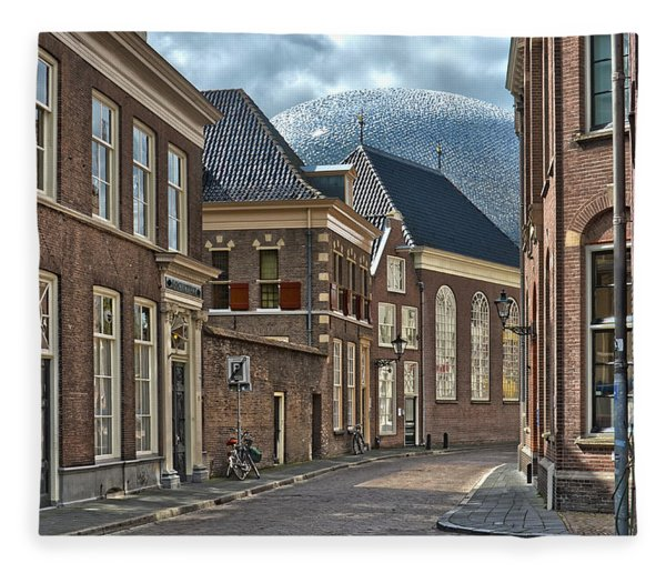 Old Meets New In Zwolle Fleece Blanket