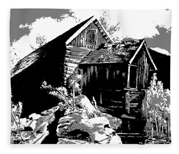 Old Rocky Mill Fleece Blanket