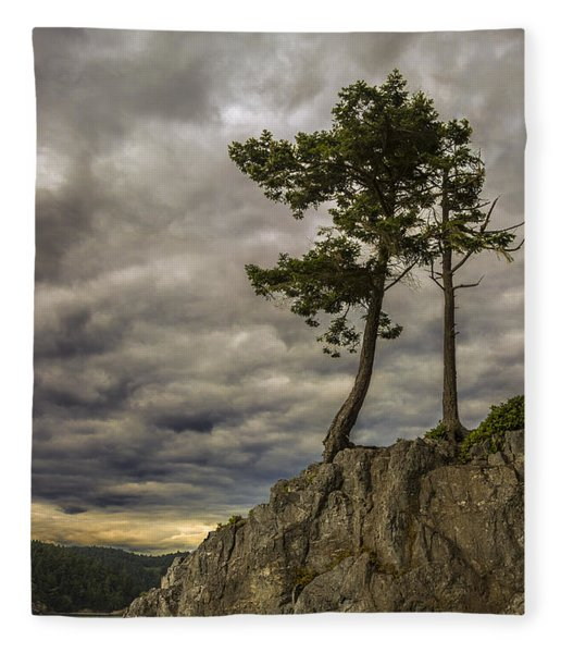 Ominous Weather Fleece Blanket