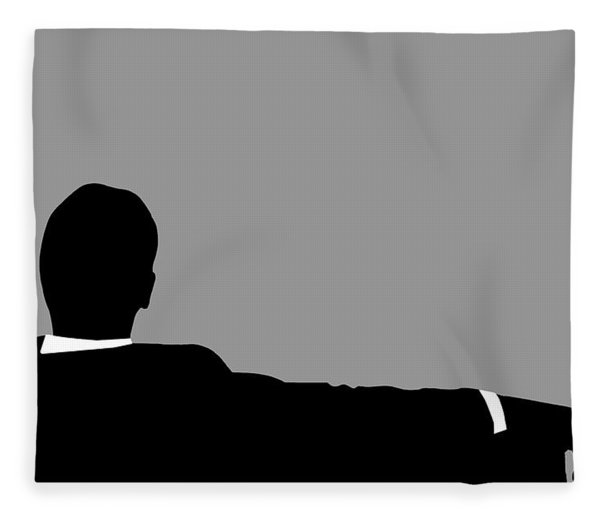 Original Mad Men Fleece Blanket