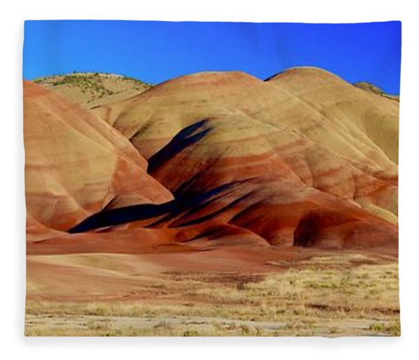 Painted Hills Pano Fleece Blanket