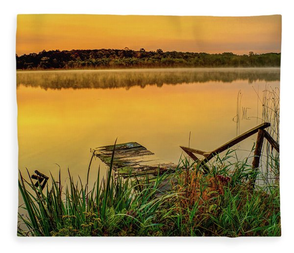 Patient Pier Fleece Blanket