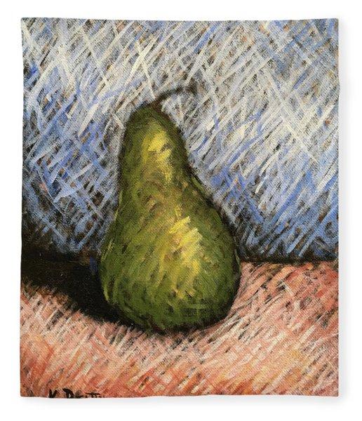 Pear Study 1 Fleece Blanket