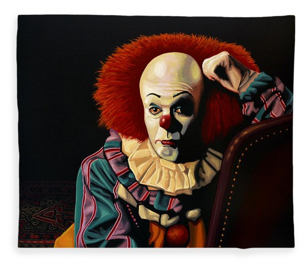 Pennywise Fleece Blanket