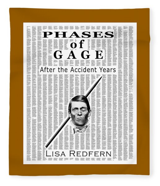 Phases Of Gage Book Poster  Fleece Blanket