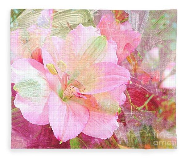 Pink Heaven Fleece Blanket