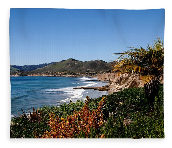 Pismo Beach California Fleece Blanket