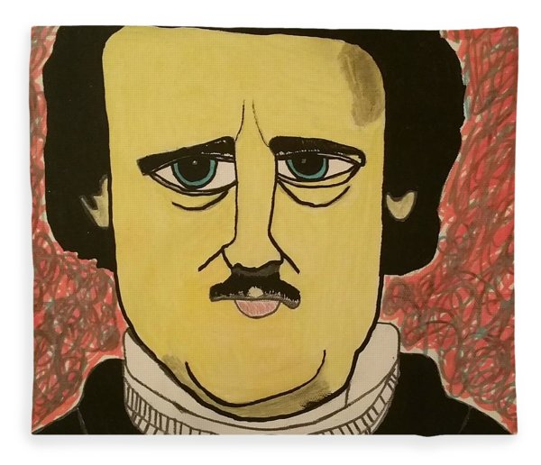 Edgar Allan Poe  Fleece Blanket