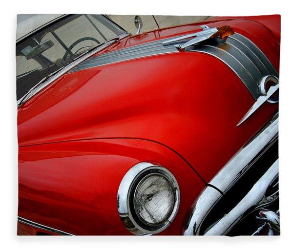 Pontiac Chieftain 1954 Front Fleece Blanket