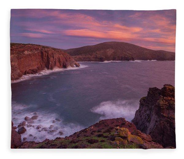 Porto Sciusciau Fleece Blanket