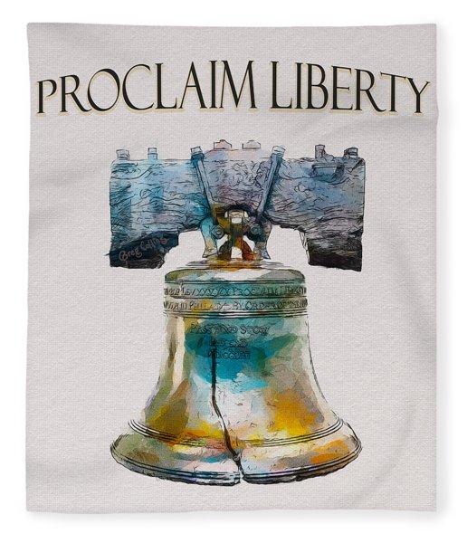 Proclaim Liberty Fleece Blanket