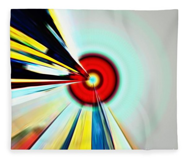 Farsighted  Fleece Blanket