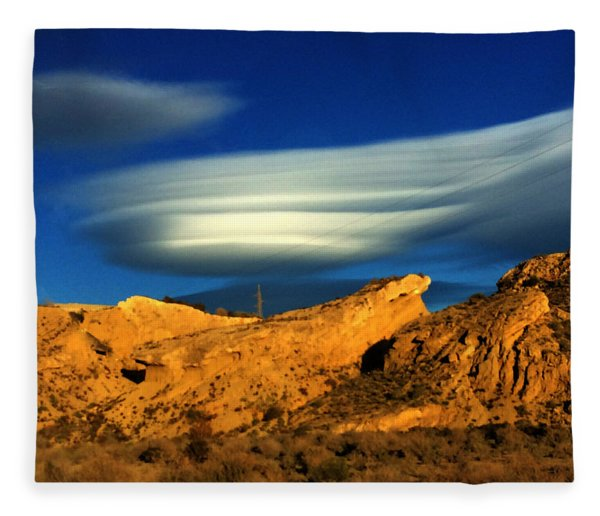 Fleece Blanket featuring the photograph Pure Nature Spain  by Colette V Hera Guggenheim