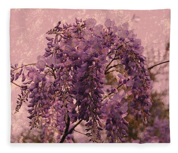 Purple Pleasures Fleece Blanket