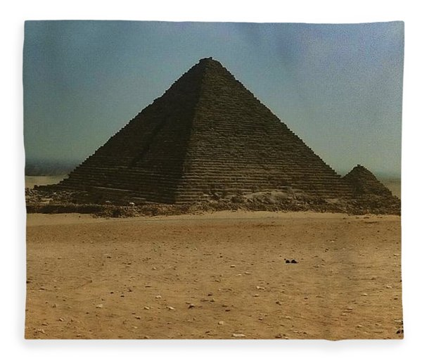Pyramids Of Egypt Fleece Blanket