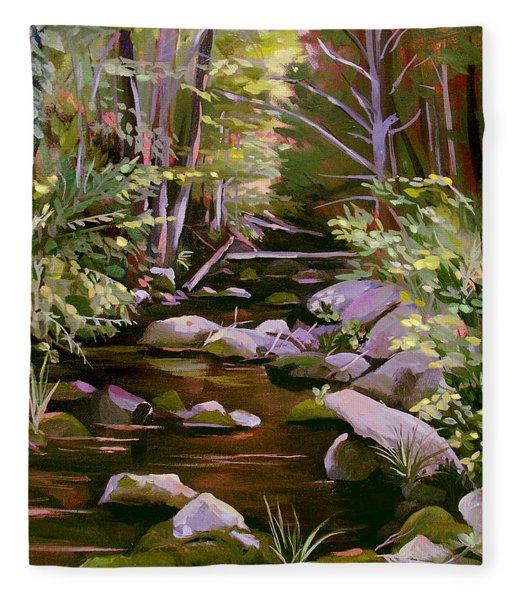 Quiet Brook Fleece Blanket