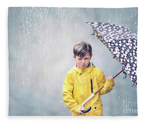 Rainman Fleece Blanket