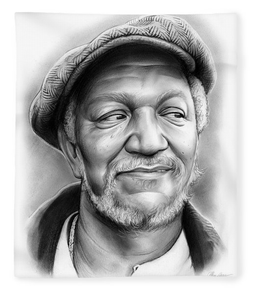 Redd Foxx Fleece Blanket
