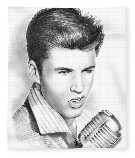 Ricky Nelson Fleece Blanket