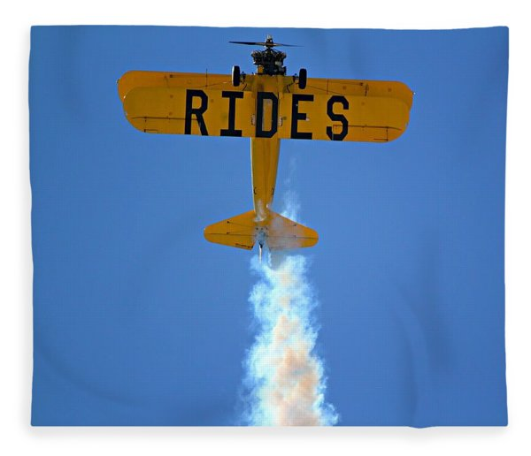 Rides Fleece Blanket