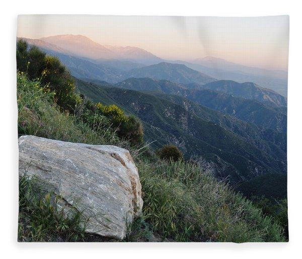 Rim O' The World National Scenic Byway Fleece Blanket