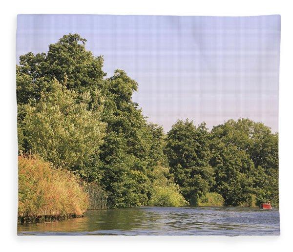 River Thames Marlow Fleece Blanket
