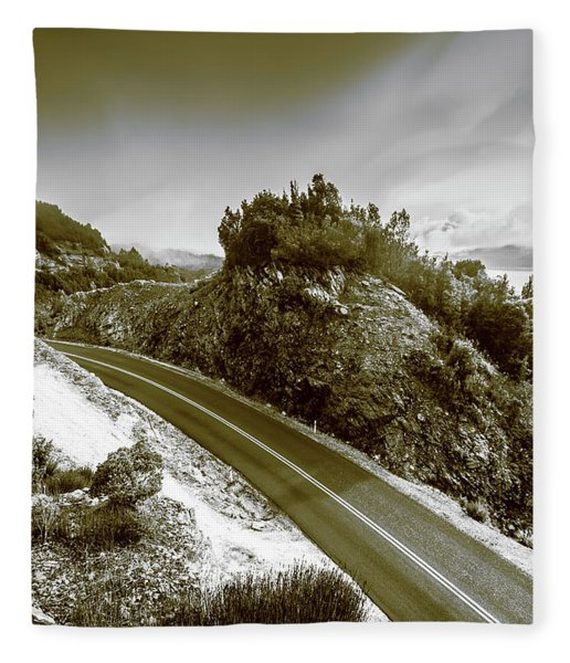 Roads Of High Dynamic Ranges Fleece Blanket