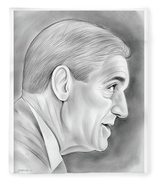 Robert Mueller Fleece Blanket