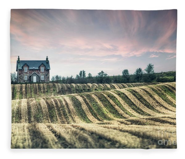 Roll With The Wind Fleece Blanket