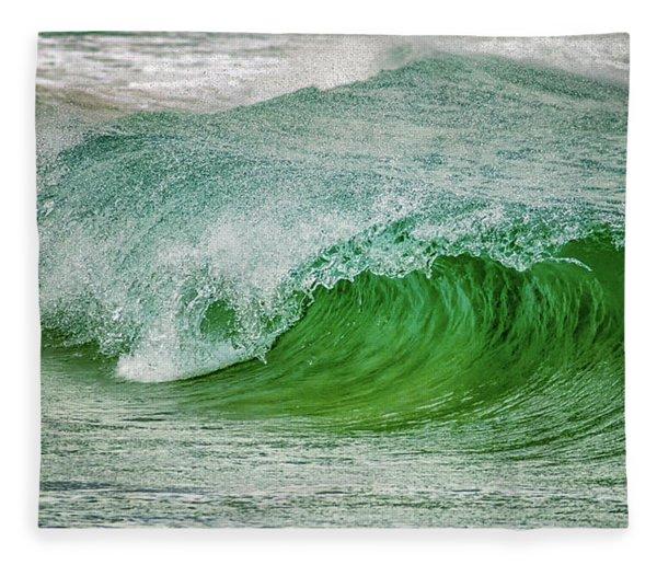 Rolling Wave Fleece Blanket