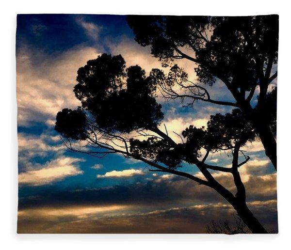 Roman Sunset Fleece Blanket