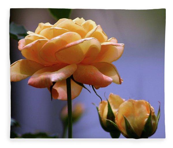 Rose 1156 H_2 Fleece Blanket