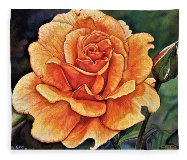 Rose 4_2017 Fleece Blanket