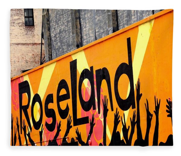 Roseland Ballroom In Nyc Fleece Blanket